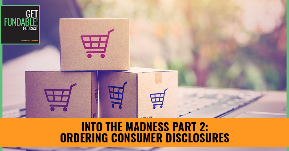 AYF 60 | Ordering Consumer Disclosures